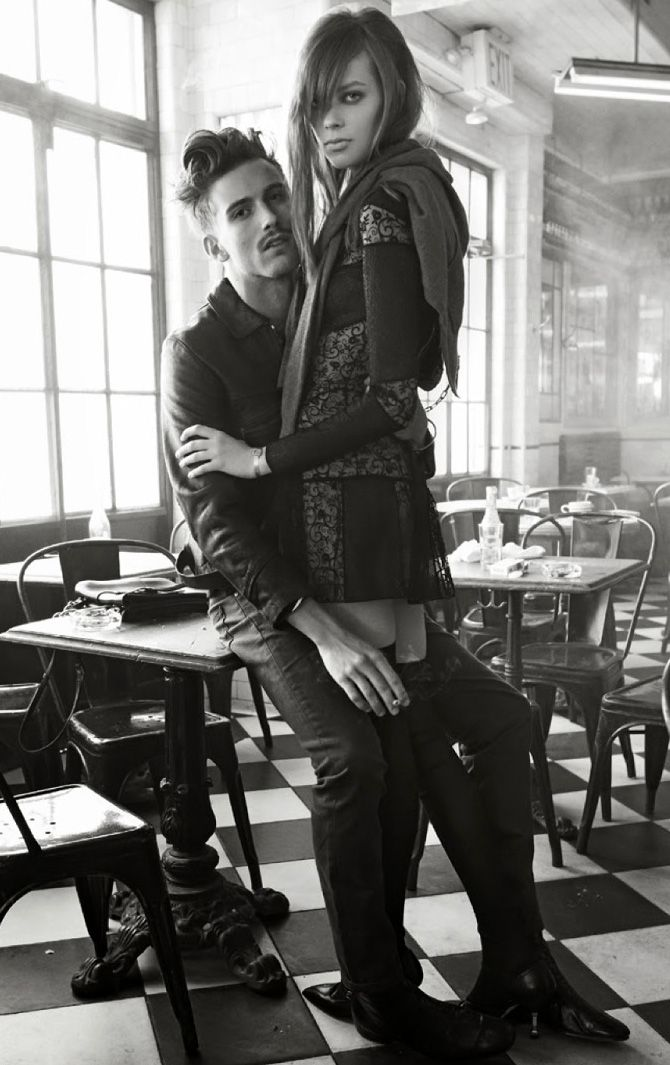 """Each Time We Meet You Make Me Feel So Incomplete"" by Steven Meisel for Vogue Italia"