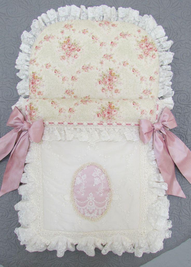 Floral cotton baby nest