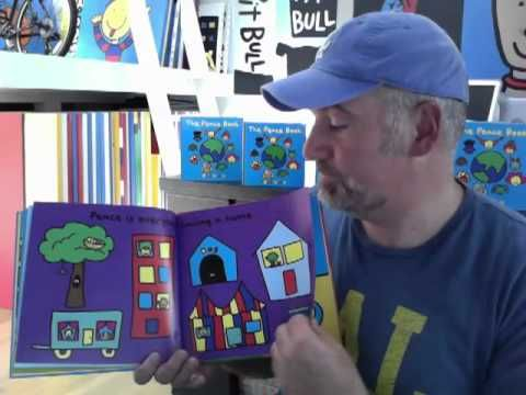 "Todd Parr reading his fabulous book ""The Peace Book"".  I read this with my class every Remembrance Day and we make a class book.  I just wish he would make a YouTube video where he reads the French version!"