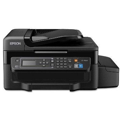 Epson WorkForce ET-4500 EcoTank Wi-Fi All-in-One Inkjet Printer - Black (EPSC11CE90201)