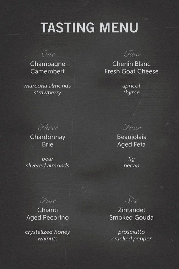 Best 25+ Wine party menu ideas on Pinterest Entertaining - sample drink menu template
