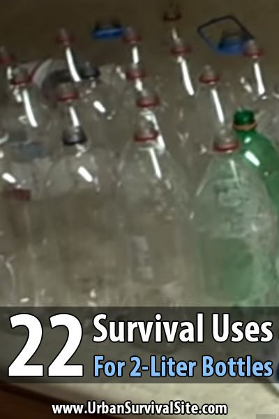 Of all the things preppers shouldn't throw away, probably the most useful is the 2-liter bottle. Some people discard these almost everyday.