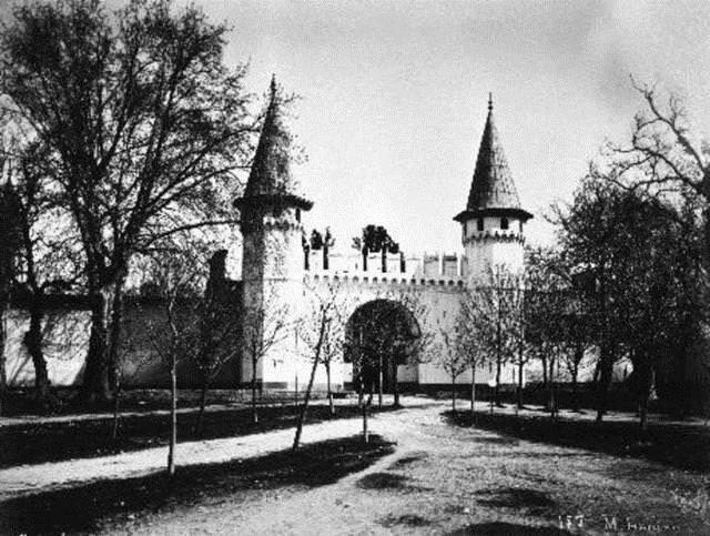 Topkapı Sarayı-Babüsselam Sultanahmet
