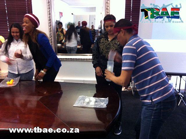 Merchant Commercial Finance Minute To Win It Team Building Cape Town #minutetowinit #teambuilding #tbae