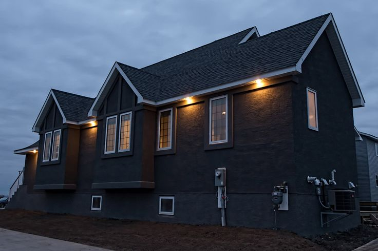 The Chateau side view exterior at night #exterior