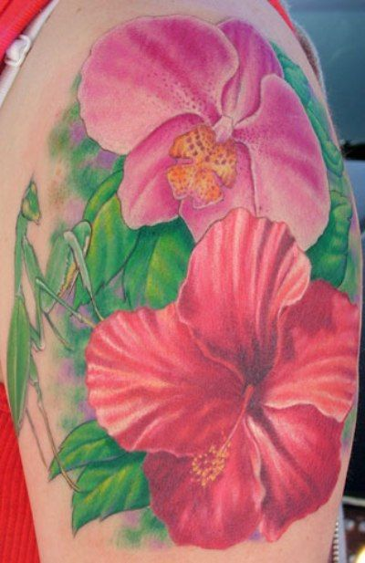 Hawaiian Flower Tattoos | Popular Types of Hawaiian Flower Tattoo | Floral Flower Tattoos