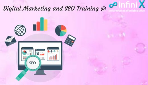 Infinix : NO: 1 Digital Marketing company in India, providing service and training for Digital Marketing, SEO, SMM etc., Trainers are from leading MNC having minimum 10 years of Experience with highly qualified in the particular course. Have a Digital Marketing Course in Chennai at Infinix to promote your business to the next level. http://www.infinix.in/digital-marketing-training-in-chennai/