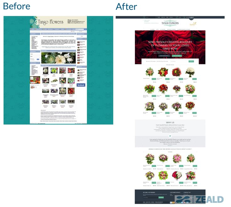 Tango Flowers - The art and science of good #websitedesign #website #websiteredesign #webdesign #designinsperation #rethinkyourwebsite #layout #redesign #redesignideas #redesigninspiration #creative #landingpages #beforeafter #responsive #leadgeneration #ecommerce