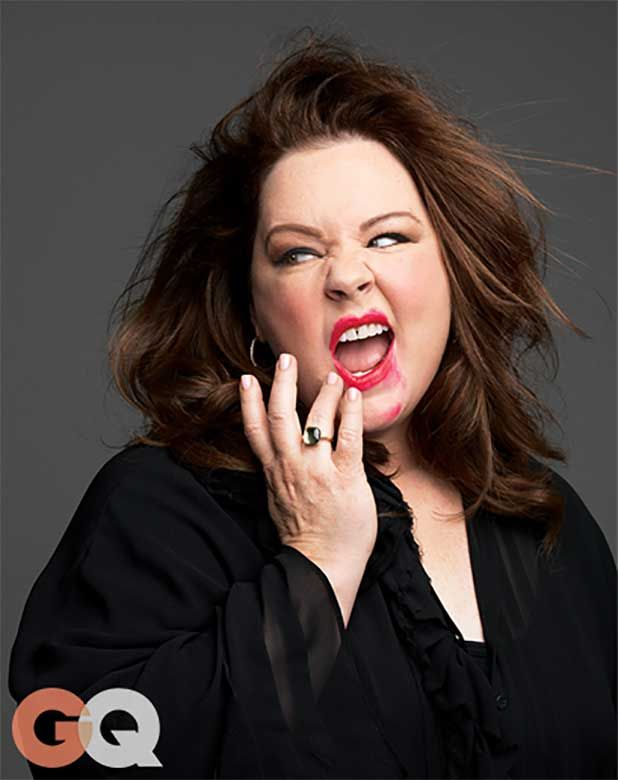 Melissa McCarthy Covers Her 'Tammy' Director-Husband Ben Falcone in Kisses for GQ (Photos) - TheWrap