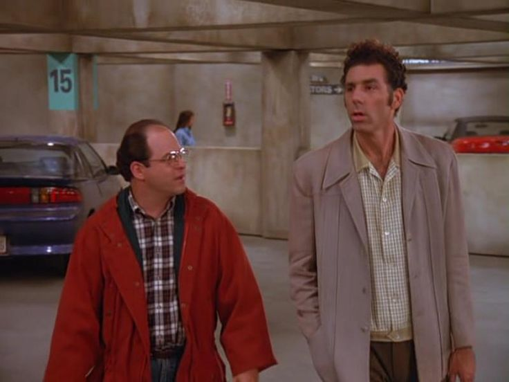 Seinfeld Season 3 The Parking Garage