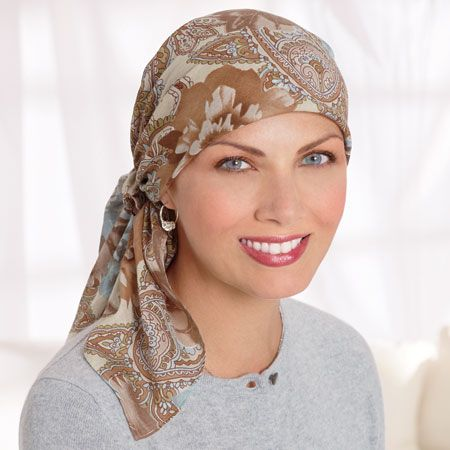 Head Covers, Head Scarves, Cancer Scarves, Chemo Scarves, Headwear For Cancer Patients - TLC