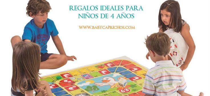 ¡Buenas tardes! ahora en nuestro #blog, ideas para regalar a un niño de 4 años #queregalar #juguetesparaniños4años #jugueteeducativo http://www.babycaprichos.com/blog/regalos-ninos-cuatro-anos/