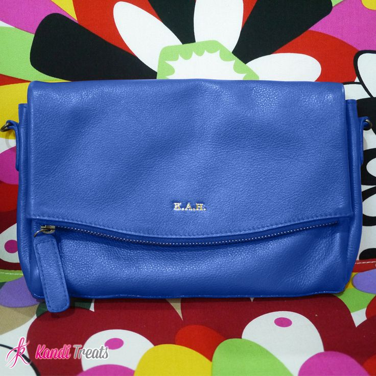 Doll, let's give our big bags a break and shift our attention to clutch bags that are durable, stylish and versatile. Click the link below for more details.  Cobalt Blue Monogrammed Clutch Php2800