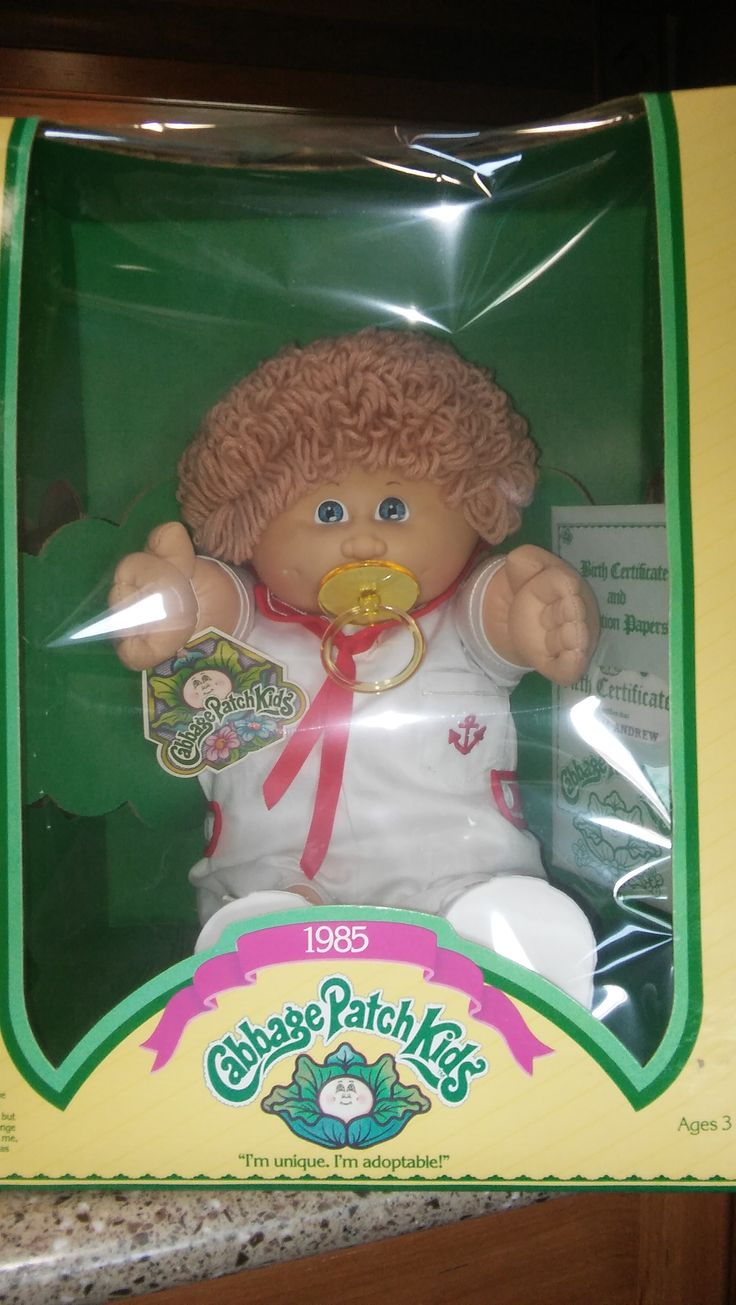 1985 Cabbage Patch Kid known as, Bingham Andrew, manufactured by Jesmar. He is adorable in his little sailor suit.