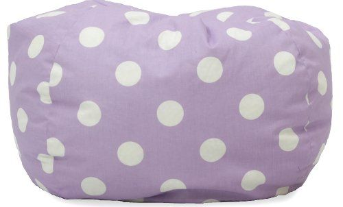 Comfort Research Classic Bean Bag Chair, Lavender Polka Dot Big Joe http://smile.amazon.com/dp/B005A2IJ2Y/ref=cm_sw_r_pi_dp_Llw3wb0PHS0J2