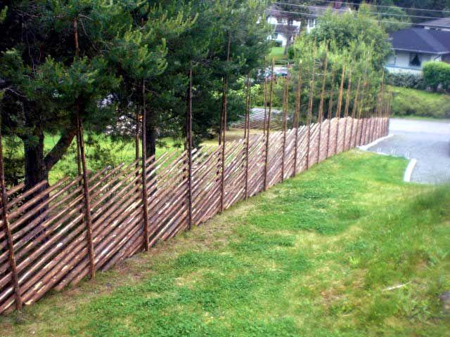 Забор из Жердей - подробная инструкция процесса монтажа