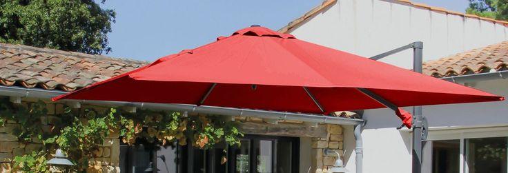 Tuotevalikoimassamme on myös kestävät ja laadukkaat aurinkovarjot ja aurinkovarjojen jalat.