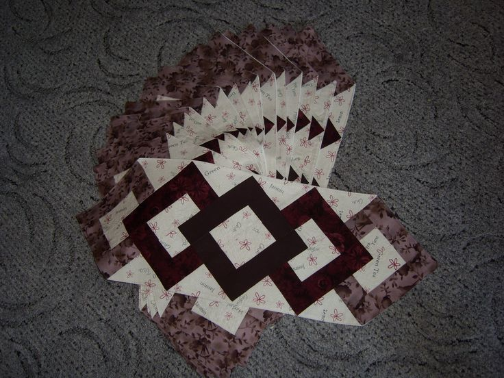patchwork dečka