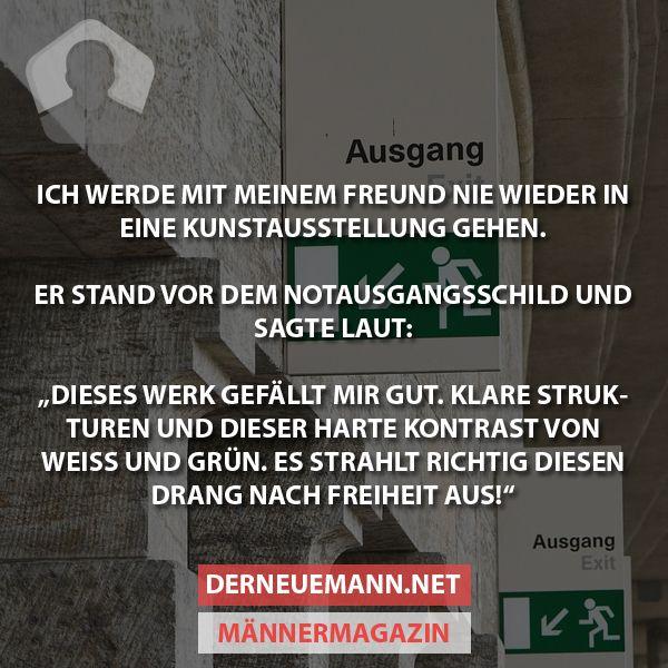Kunstausstellung #derneuemann #humor #spaß #lustig