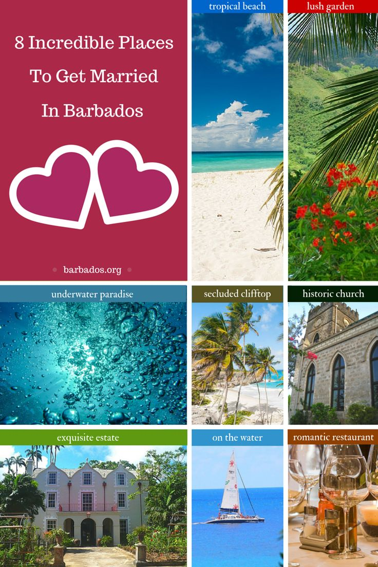 22 best images about barbados romance on pinterest for Romantic places to get married