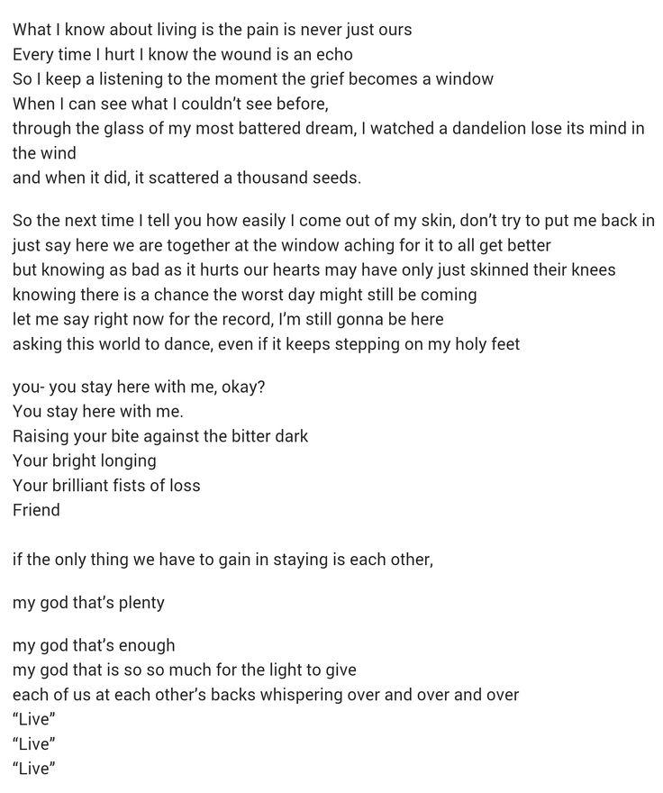 Andrea Gibson! - Love Poem