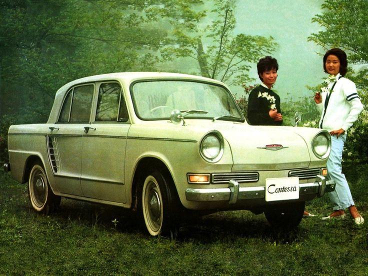 Hino ヒノ Contessa 1300 coupé advertising - Japan - 1964-67