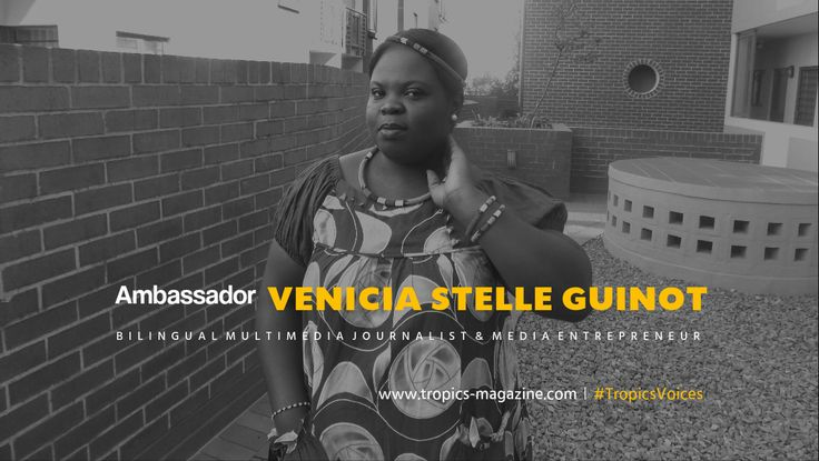#TropicsVoices | Ambassador Vénicia Stelle Guinot - Representing the #RepublicOfCongo and #SouthAfrica .  Follow VENICIA's journey on #TropicsMagazine >>> http://goo.gl/kt4GJy . • • • #TropicsAmbassador #TropicsAmbassadeur #Leaders #EntrepreneurLife #Successful #Entrepreneurs #SuccessStories #Inspirational #Motivational #Gladiator #People #Icons #Leading #PublicFigure #RoleModel #Powerful #Visionary #InstaMood