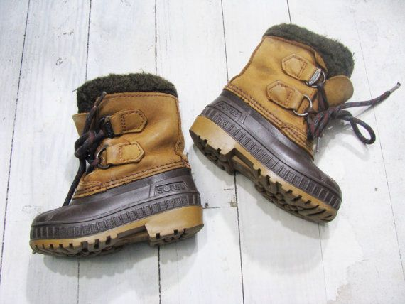 Sorel Duck Boots Kids Duck Boots Sorels by lakeviewgoods on Etsy