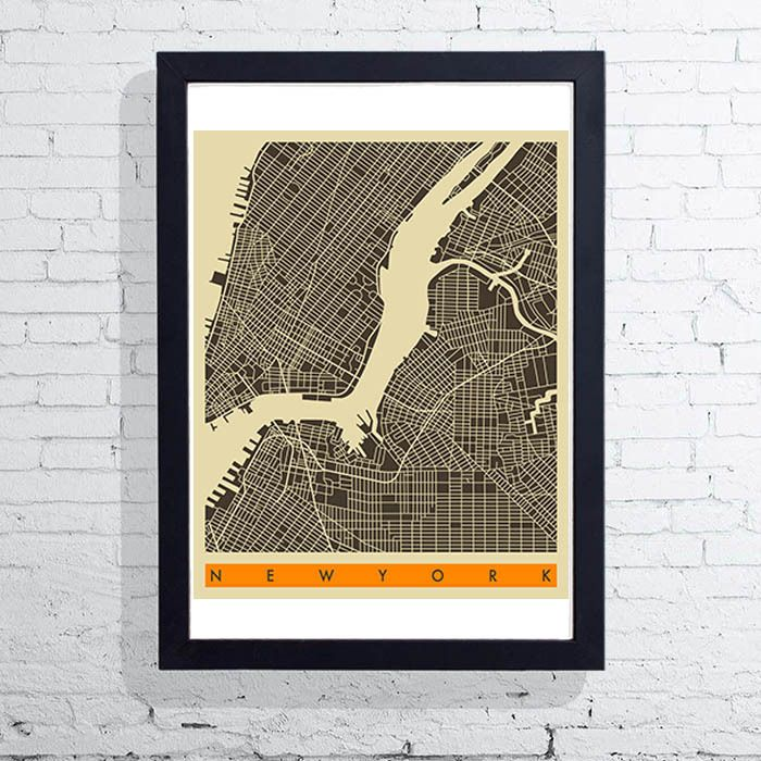 New York by Jazzberry Blue - East End Prints