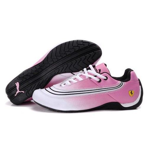 puma shoes pink and black. puma ferrari shoes for women | women\u0027s new style white pink black and