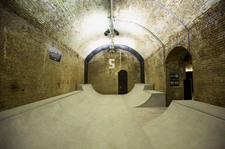 Vans Opens Massive Skatepark and Creative Space Beneath London's Waterloo Station