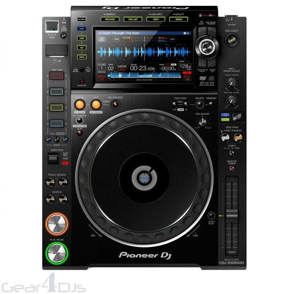 DJ Media Players & DJ CD Decks | Gearooz