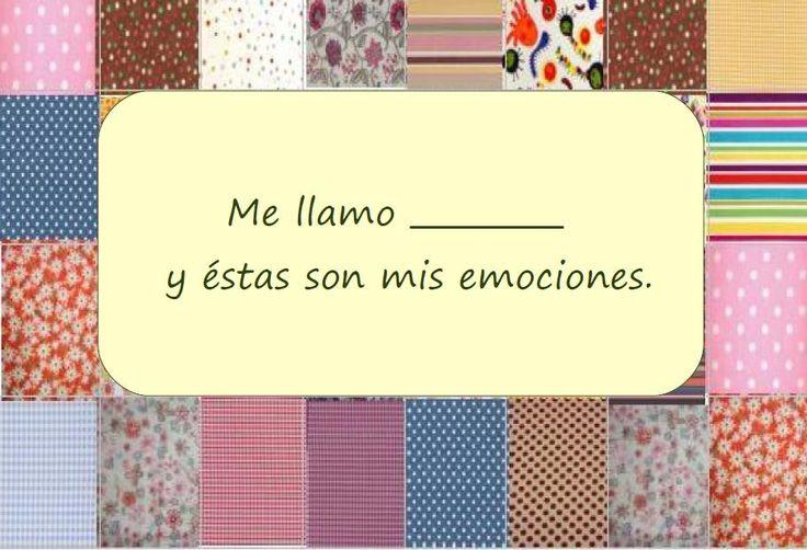 Un álbum de emociones. Excellent activity for teaching emotions in Spanish. http://mamaconciencia.com/2013/11/26/un-album-de-emociones/