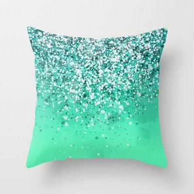 Silver II Throw Pillow by Rain Carnival