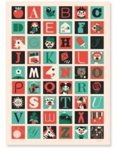 abécédaire: Ingela Arrhenius, Az Posters, Picture-Black Posters, For Kids, A Z Posters, Illustration, Arrhenius Posters, Alphabet Posters, Kids Rooms