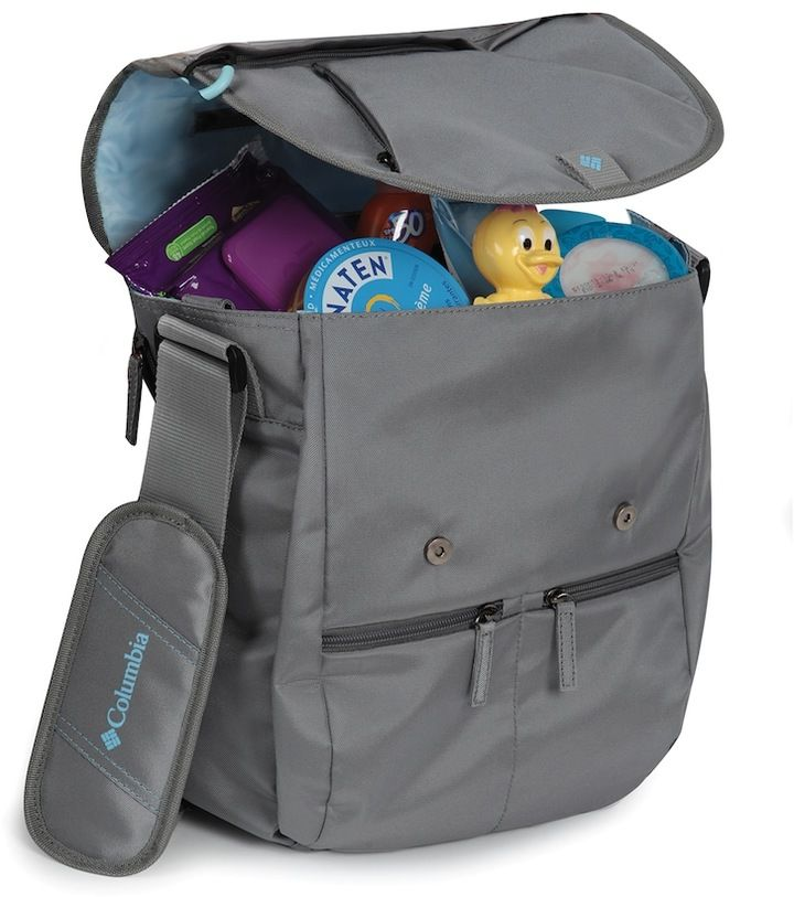 Columbia Rugged Path Expandable Messenger Diaper Bag