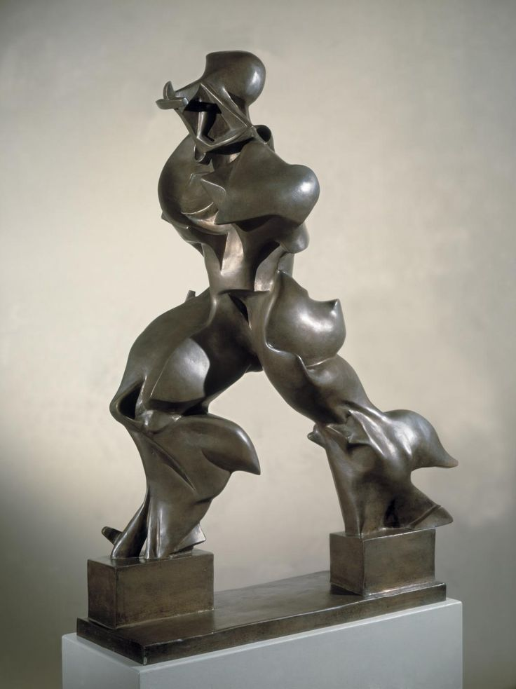 Umberto Boccioni, 'Unique Forms of Continuity in Space' 1913, cast 1972