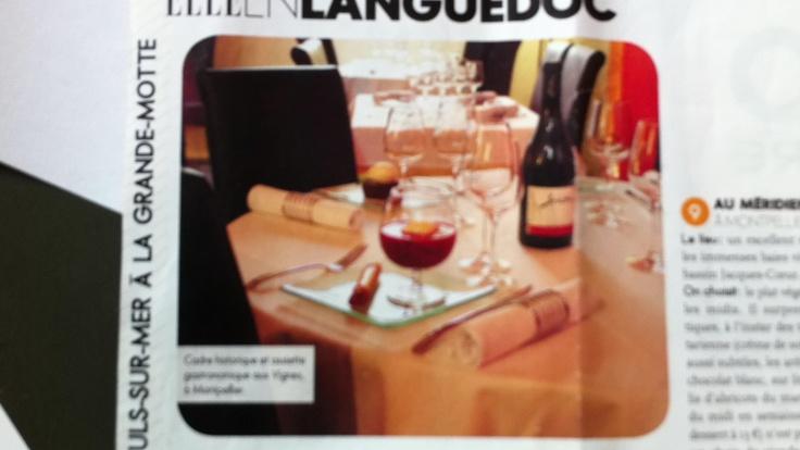 Une belle table Aux Vigne Sélection de Elle...