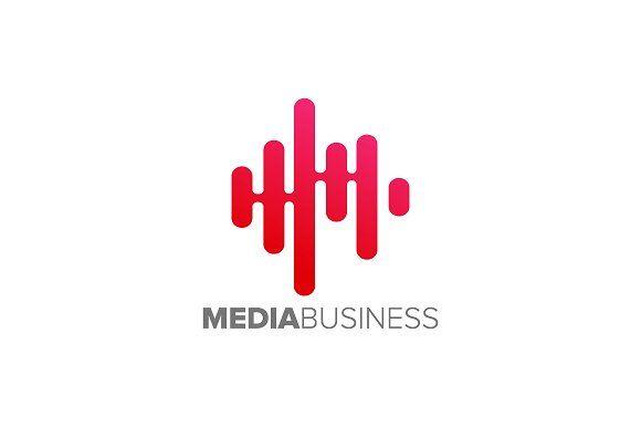 Media Technology Logo by Toko Pak Sabar on @creativemarket