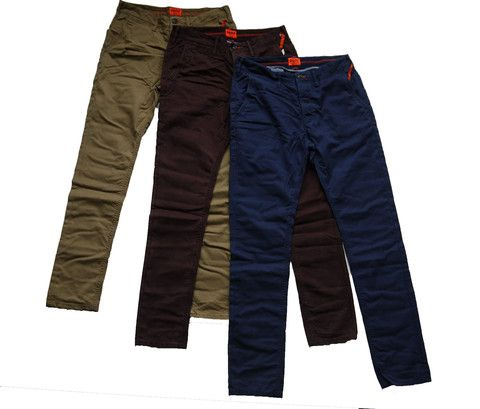 Superdry Mens Rookie Chino Trousers 3 Colours Available – Moyheeland Traders
