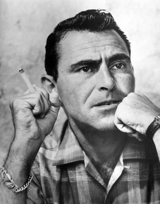 Rod Serling explains where ideas come from.