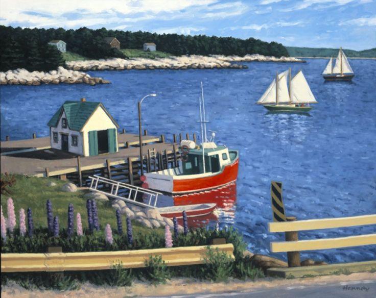 Coastal | Paul Hannon - Halifax artist