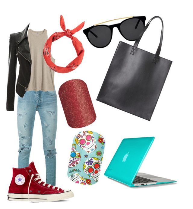 """""""Untitled #20"""" by staceywilson-2 on Polyvore featuring Yves Saint Laurent, New Look, Converse, Smoke & Mirrors, Monki and Speck"""