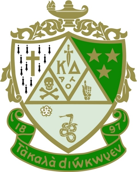 The Kappa Delta crest