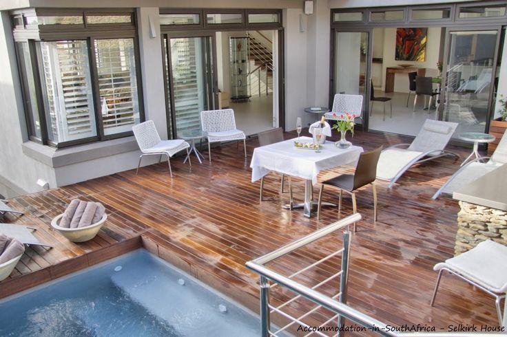 Beautiful pool at Selkirk House. http://www.accommodation-in-southafrica.co.za/WesternCape/Hermanus/SelkirkHouseHermanus.aspx