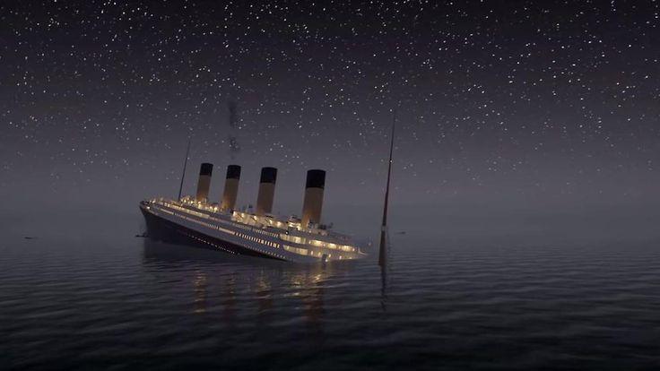 Ganz großes Kino: Der Untergang der Titanic - in Echtzeit