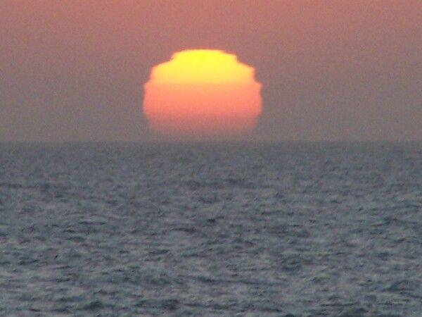 Sunset swakopmund