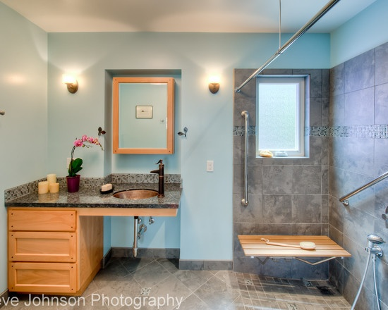 Pics On  best All Access and general Bathroom ideas images on Pinterest Bathroom ideas Bathroom remodeling and Ada bathroom
