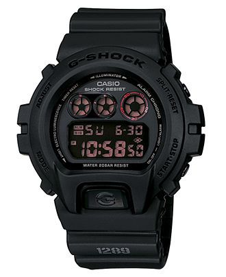 G-Shock Watch, Men's Black Resin Strap DW6900MS-1 - G-Shock - Jewelry & Watches - Macy's