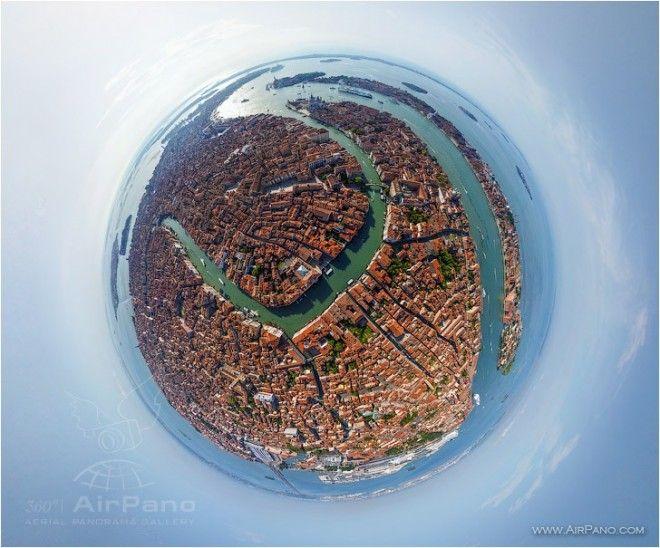 AirPano, è un progetto no profit che realizza immagini e video in alta definizione di panorami a 360° e apportando delle modifiche con programmi specifici riesce a creare delle vere e proprie sfere panoramiche.